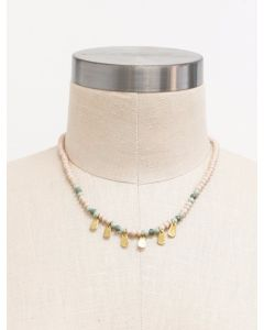 Mirage Fringe Necklace