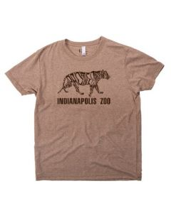 Adult Indianapolis Zoo ''Tiger'' Tee