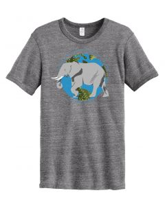 Men's ''Elephant'' Conservation Tee